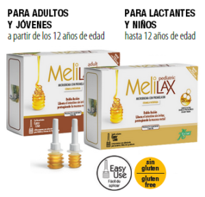 Alivia el estreñimiento con Melilax enema natural