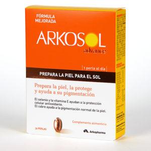 Bronceado y protección natural con Arkosol